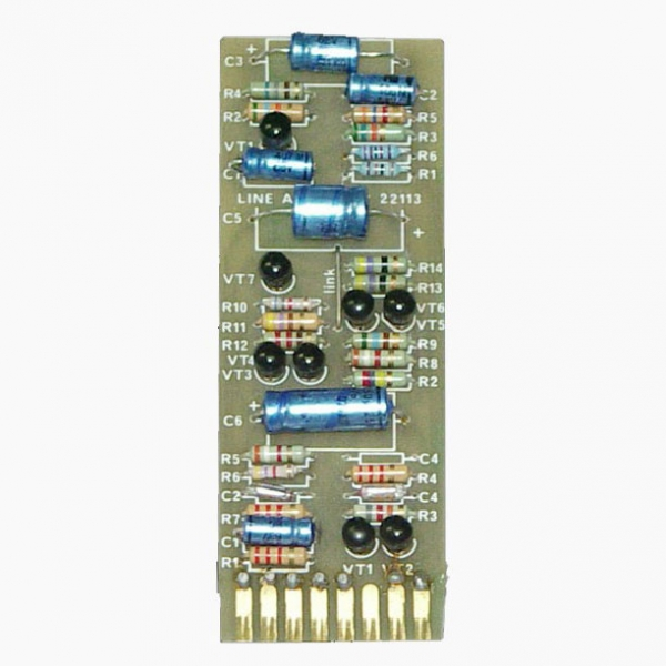 Helios 22113 Hl Amp Card Long