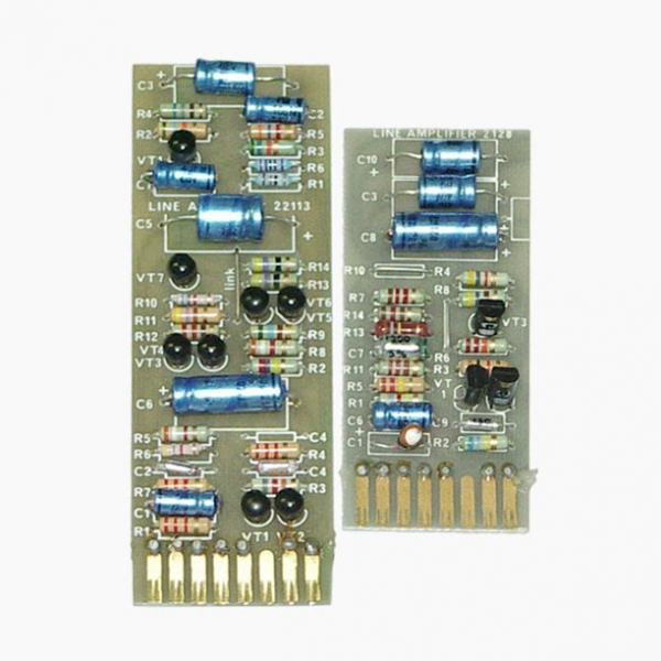 Helios   2128 H/L Amp Cards (long and short versions)