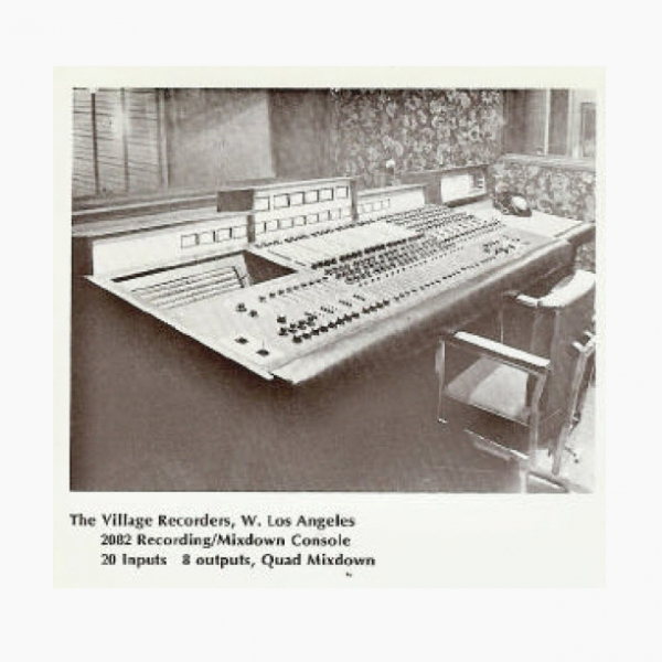 QEE | 2082 Console (Village Recorders)