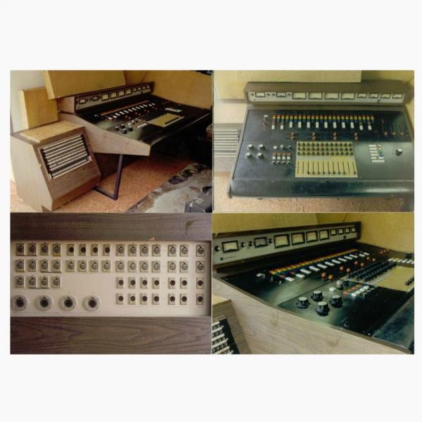 Electrodyne Custom Music Console Capitol Recordsbeach Boys