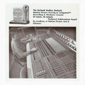 QEE | Recording & Mixdown Console (Burbank Studios)